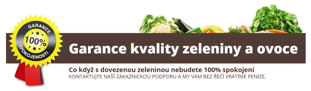 Garance kvality ovoce a zeleniny
