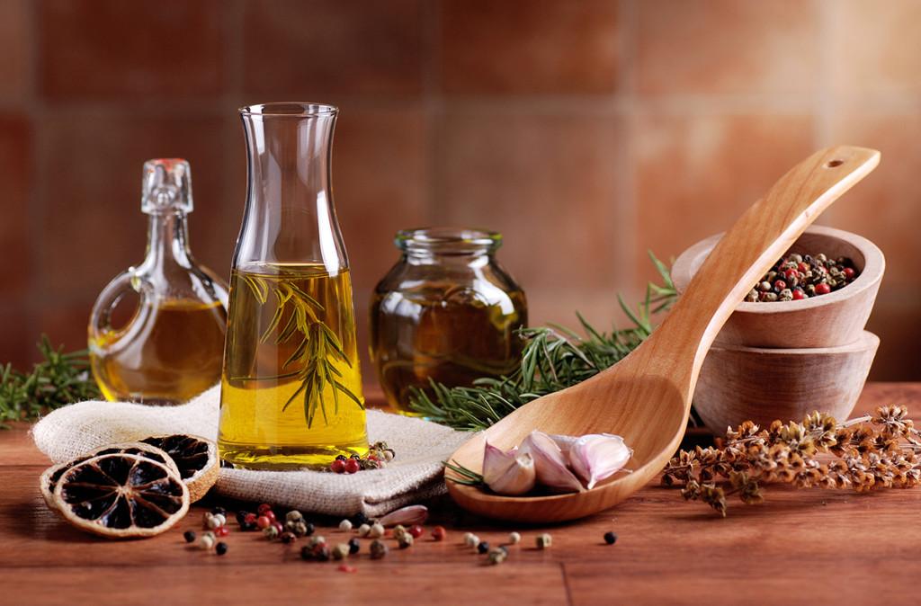 ochucené oleje