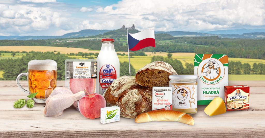 české potraviny