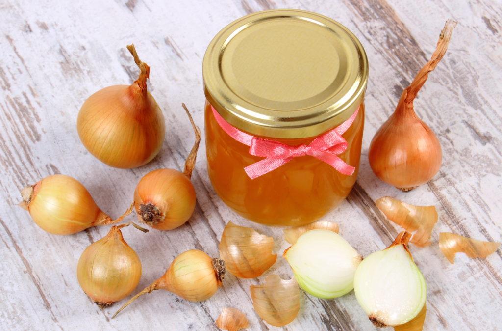 cibulový med