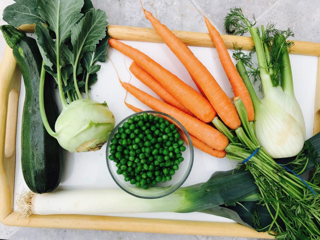 Biopotraviny a biozelenina