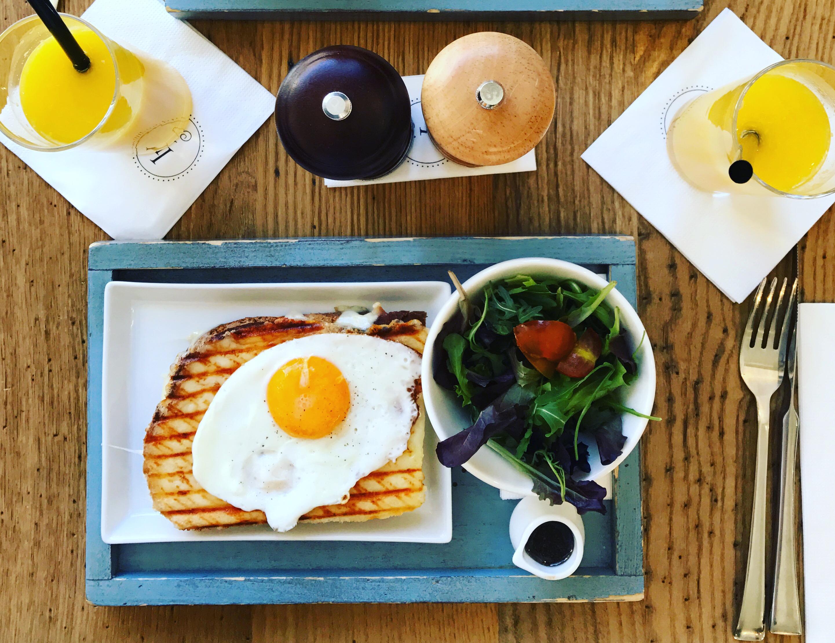 Zdravá snídaně volské oko