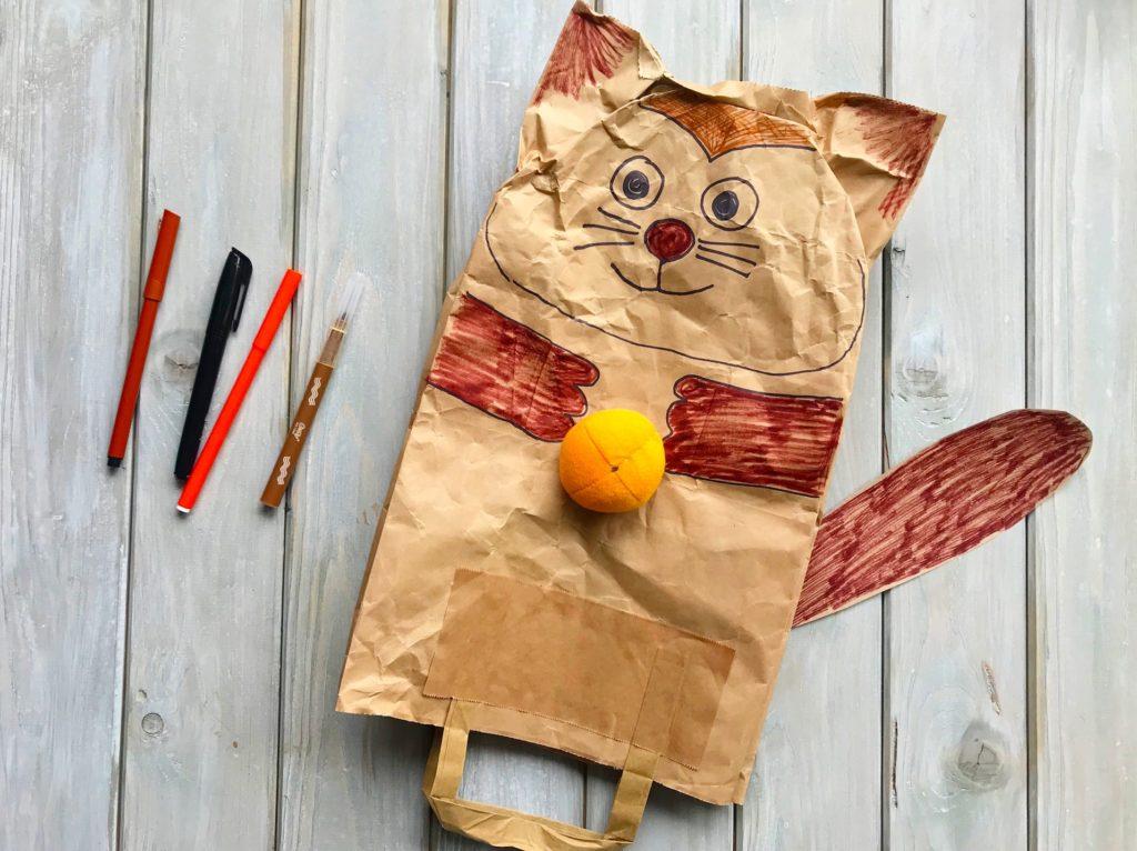 Co s papírovou taškou